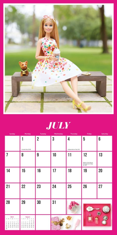 calendario barbiestyle 4