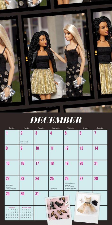calendario barbiestyle 5