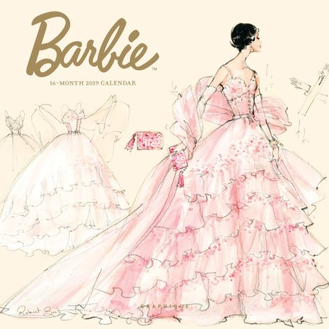 grapiche calendar Barbie