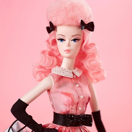 Miss Poodle Parade Barbie Doll (1)