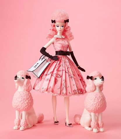 Miss Poodle Parade Barbie Doll