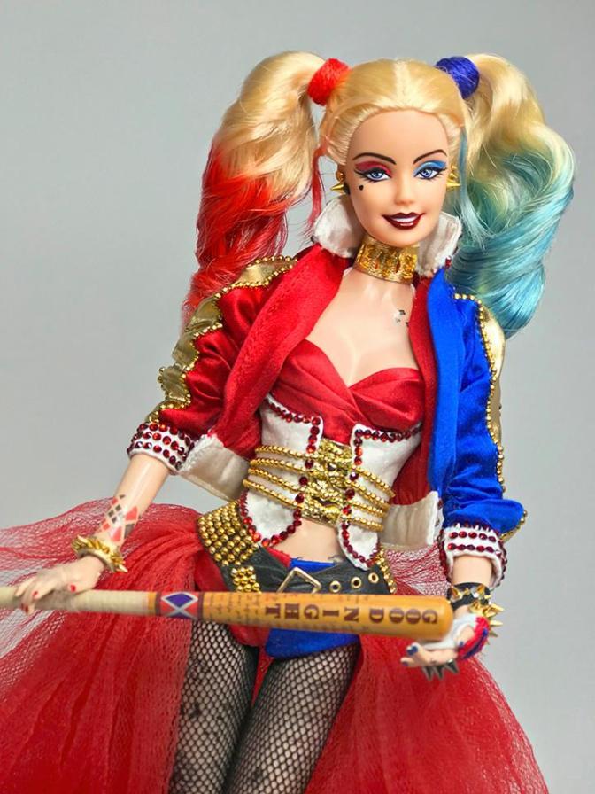 Barbie es Harley Quinn gracias a Ninimomo