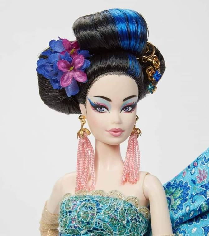 Blue Blossom Barbie, última OOAK de Bill Greening