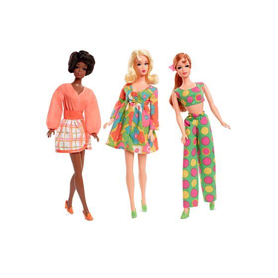 Barbie Mod Friends 50th anniversary