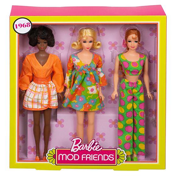 barbie mod friends
