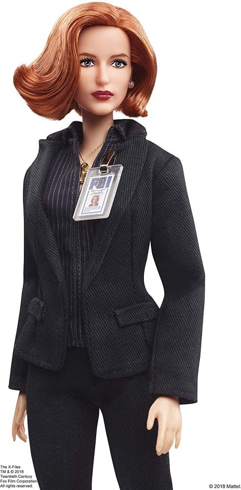 dana scully barbie 2
