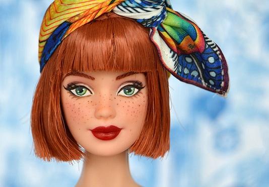 Lucía, la Barbie OOAK de Bonequea