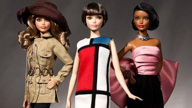 Barbie soñó con Yves Sain Laurent y se hizo realidad