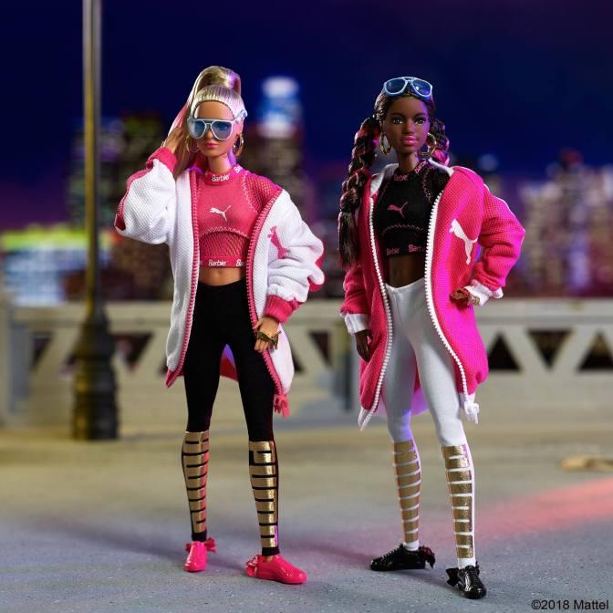 La colaboración de Barbie y PUMA