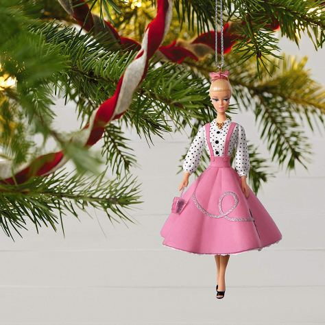 barbie ornament 2018