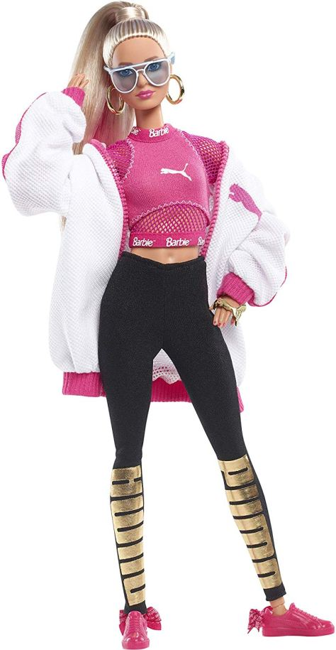 barbie puma doll blonde 1