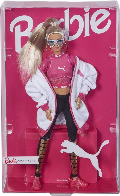 barbie puma doll blonde 4