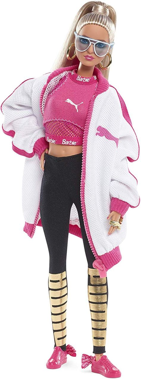 barbie puma doll blonde