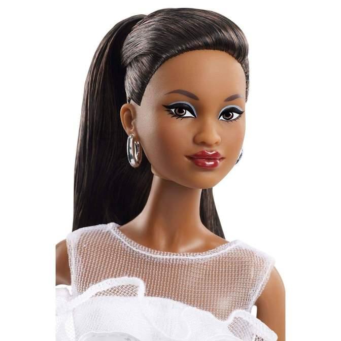 60 aniversario de Barbie en blanco