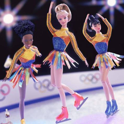 barbie ice skater
