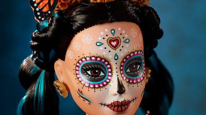 Barbie disfruta del Día de los Muertos