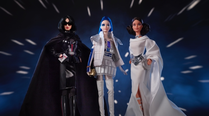 Barbie se une a la fuerza de Star Wars