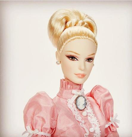 tea at the manor barbie doll ooak
