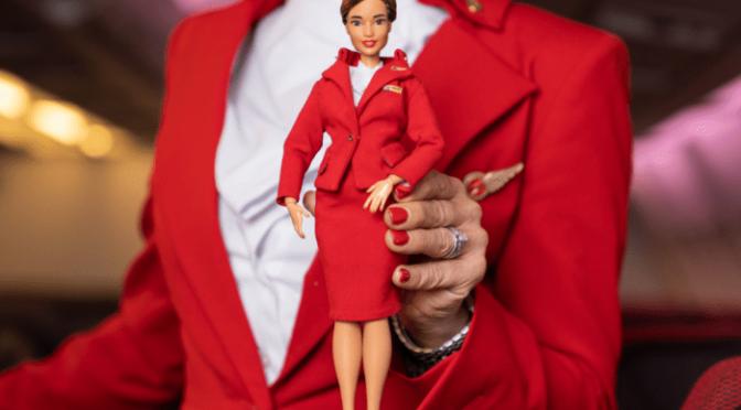 Las nuevas Barbie de la aerolínea de Virgin Atlantic