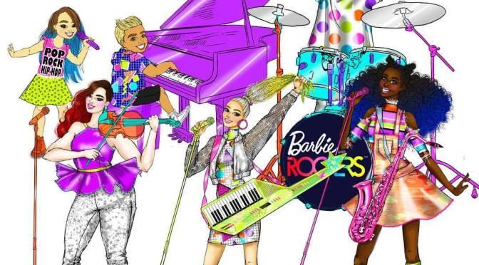 Los sketches de Carlyle Nuera para Barbie