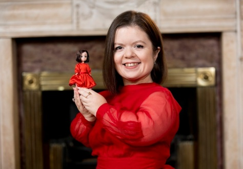 Irish Toy Company, Lottie Dolls join forces with activist and changemaker Sinead Burke, becoming the world's first toy brand to create a small person doll, launching on 'World Dwarfism Awareness Day'