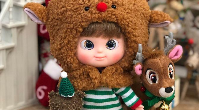 IxDoll se viste para Navidad