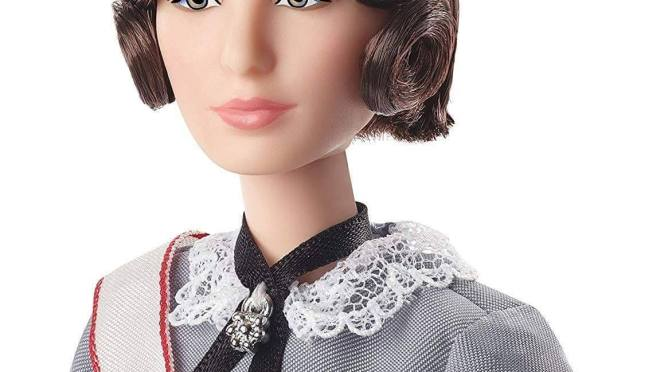 Florence Nightingale es homenajeada por Barbie