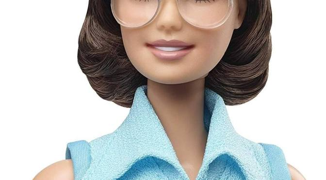 Billie Jean King, la gran tenista, en Barbie