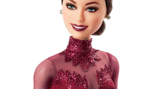 Hablemos de Tessa Virtue y su Barbie