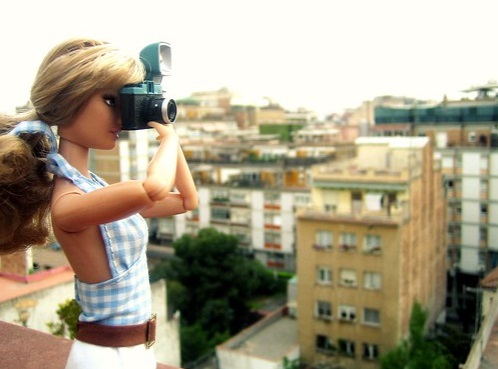 10 años: fotografiar muñecas