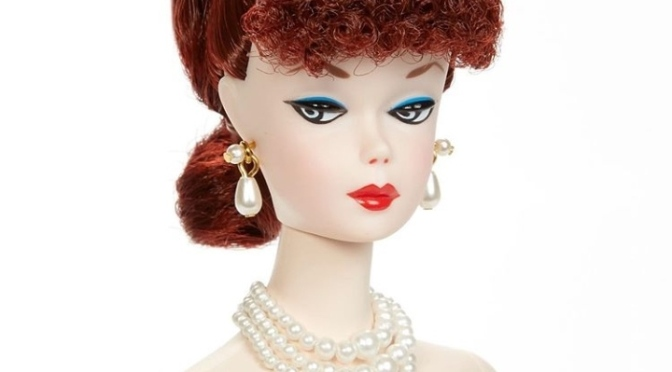 Bill Greening y su Barbie OOAK para el Paris Fashion Doll Festival 2020