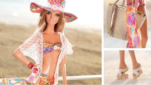 La Barbie bronceada