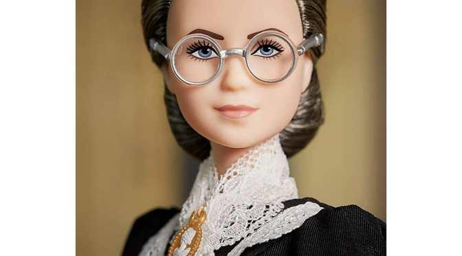 Susan Anthony ya tiene su muñeca Barbie