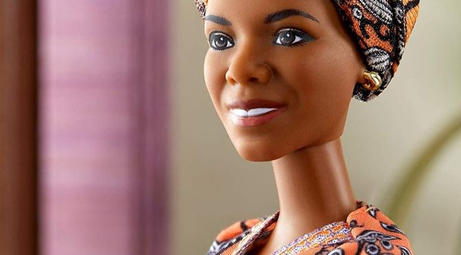 Maya Angelou y su Barbie